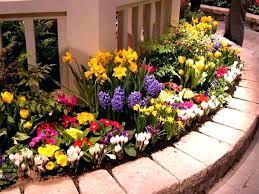 easy flower bed design easy flower garden ideas simple flower garden design large size of garden