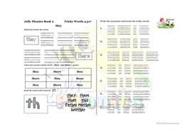 Jolly phonics is a practical approach to teaching basics of english through synthetic phonics. English Esl Jolly Phonics Worksheets Most Downloaded 14 Results