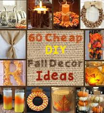 fall decorations 100 and easy fall decor diy ideas prudent penny pincher