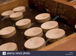 Dutch Game With Wooden Discs Playing Shuffleboard Stock Photos Playing Shuffleboard Stock 78