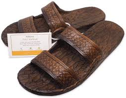 Light Brown Jandals Pali Hawaii Light Brown Jandal Certificate Of Authenticity