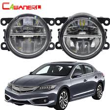2013 Acura Ilx Fog Light Replacement Us 23 85 44 Off Cawanerl For Acura Ilx 2013 2016 Car Led Bulb 4000lm Fog Light Daytime Running Lamp Drl White 6000k 12v High Bright 2 Pieces In Car