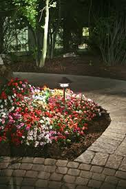 flower bed lighting. Impressive Flower Bed Lights Phenomenal 22 Landscape Lighting Ideas Home Throughout Popular