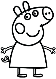 Peppa Pig Coloring Pages Best Pig Coloring Pages Images Pig Coloring