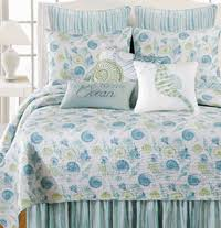Beach Bedding Sets, Quilts and Comforters | Bella Coastal Décor & St. Augustine Quilt Bedding Collection Adamdwight.com
