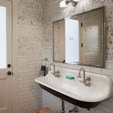 75 Beautiful Farmhouse Bathroom With A Trough Sink Pictures Ideas April 2021 Houzz
