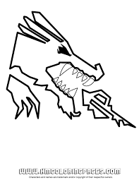 Lego Dragon Coloring Pages Motivate Ninjago Page Free Printable For