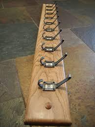 Old School Coat Rack New The Old Oak Barrel Oak Coat Rack With 32 Cast Iron School Hooks