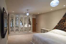 contemporary fitted bedroom furniture. Contemporary Light Bedroom With Fitted Wardrobe Furniture