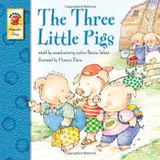 amazon the three little pigs 9781577683674 patricia seibert books