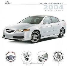 2002 Acura Rsx Dealer Sales Brochure Catalog With Color