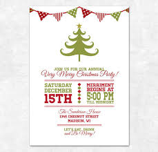 free printable christmas invitations templates printable christmas invitation holiday bunting and christmas
