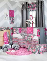 Excellent Wonderful Crib Bedding For Girls With Regard To Ba Girl Baby Sets Designs