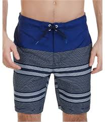 Nautica Swim Trunks Size Chart Details About Nautica Mens Bright Quick Dry Swim Bottom Board Shorts