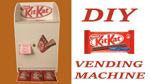 How to Make KitKat Vending Machine With Card Board or Foam Sheets