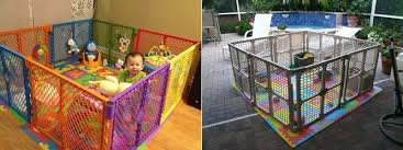 north states superyard play yard indoor and outdoor view