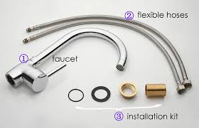 brilliant stunning how to install kitchen faucet kitchen sink