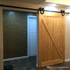 5 ft barn door 6 5 ft wide barn door