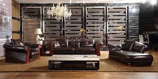 Classical Leather Sofa Chaise High Quality Hotel Reception Sofa 1 ...