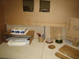office prank cardboard boxes cardboard office