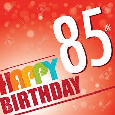 Happy 50th Birthday Tarpaulin Designs 85th Birthday Party Invite Template Design In Bright And Colourful
