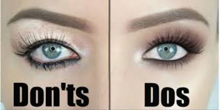 how you have been applying your eye shadow the wrong way or the right way