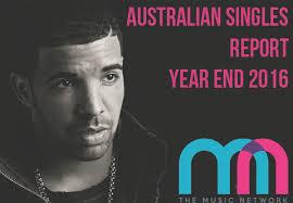 Australias Top Singles For 2017
