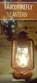 Rustic Lantern Lights Fairy Firefly Lantern Lantern With Fairy Lights Lanterns