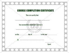 sample certificates of completion 10 best completion certificate images printable certificates