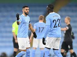 Pep Guardiola tells Benjamin Mendy and Riyad Mahrez why they could start  next Man City game - Manchester Evening News