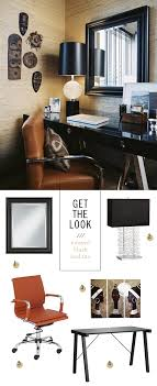 neutral office decor. neutral home office decor with black accents f
