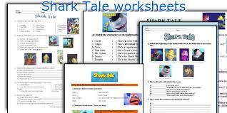 Shark Tale Worksheets