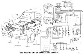 mustang wiring diagrams average joe restoration 1965 mustang ignition starting and charging pictorial and schematic