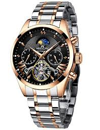 <b>Mens</b> Watches <b>Men</b> Mechanical <b>Automatic</b> Waterproof <b>Luxury</b> ...