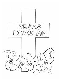 Jesus Loves Me Coloring Page Coloring Page Book For Kids