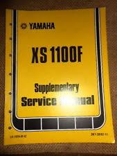 yamaha xs1100 manual ebay Xs1100 Wiring Diagram yamaha oem 1979 xs1100 f xs1100f supplemental service manual with wiring diagram xs1100 wiring diagram