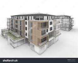 apartment building design. 1500x1225 Modern Style Apartment Building Drawing Design