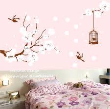 cherry blossom tree vinyl wall decal wall arts cherry blossom wall art  stickers cherry full size