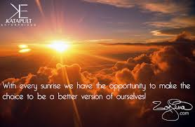 Quotes About Sunrise Gorgeous ZoeLena Quote Sunrise With Every Sunrise We Have The Oppor Flickr