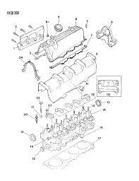 1989 dodge omni cylinder head mopar parts giant Dodge Truck Wiring Harness at Engine Wiring Harness For 1989 Dodge Omni