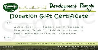 Certificate Of Donation Template Operating Manual Template