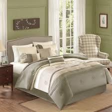 better homes and gardens jelissa 7 piece bedding comforter set beige com