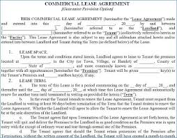 Business Property Lease Agreement Template Free | Spartagen.org
