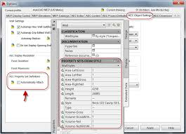 autocad architecture features automated property set definitions automated property set definitions automatically attach property set definitions to