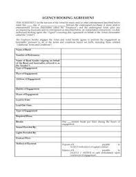 Agent Contract Template. Sales Agent Contract Sales Representative ...