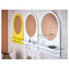 mirror hooks. ikea saltrÖd mirror with shelf and hooks s