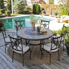 patio table and 6 chairs: home design interior patio dining propane close uquot