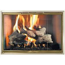 z decor stock zero clearance fireplace door