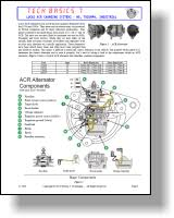 era technical library tech basics Acr Alternator Wiring Diagram lucas 15,16,17,18 acr charging systems 1969 1986 acr alternator wiring diagram