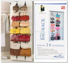 Coat And Bag Rack Adjustable Over Door Straps Hanger end 100100100 1001100 PM 34
